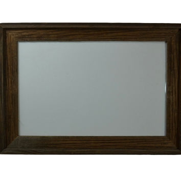 11x17 poster frame from reclaimed wood with a beautiful dark patina.