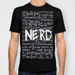 Nerd T-shirt by Ally Coxon | Society6