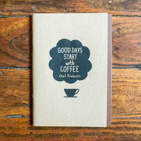 Owl Products Notebook Coffee
