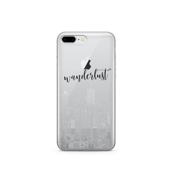 City Wanderlust iPhone & Samsung Clear Phone Case Cover