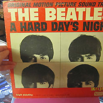 "ORIGINAL MOTION PICTURE SOUND TRACK ""THE BEATLESA HARD DAYS NIGHT"""