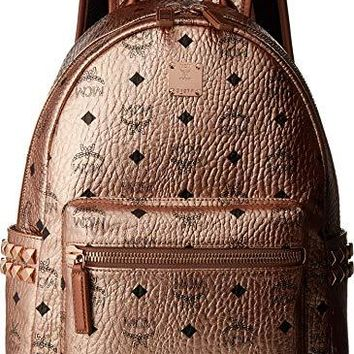 MCM Womens Stark Backpack Small