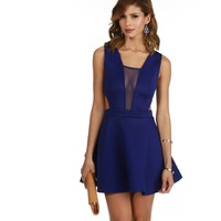 Royal Take Me There Skater Dress