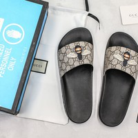 Gucci Slide Sandal With Blue Box Style #3 - Best Online Sale