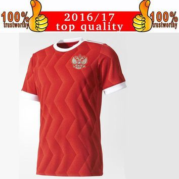 New Arriver 2017 Russia Soccer Jerseys 2017 18 Confederations Cup Home Football Shirt