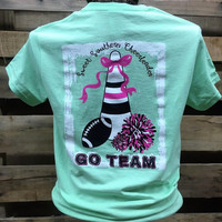 Southern Chics Sweet Southern Cheerleader Cheer Go Team Football Girlie Bright T Shirt