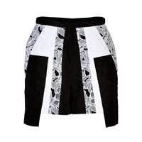 Peter Pilotto - Cotton-Silk Cate Skort
