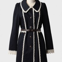 victorian doll belted indie coat at ShopRuche.com