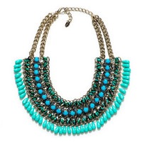 CHAIN, CORD AND STONE NECKLACE - Accessories - Accessories - Woman | ZARA Israel