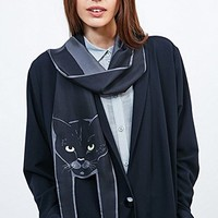 Cleo Ferin Mercury Cat Scarf in Black - Urban Outfitters