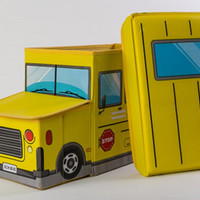 School Bus Storage Box