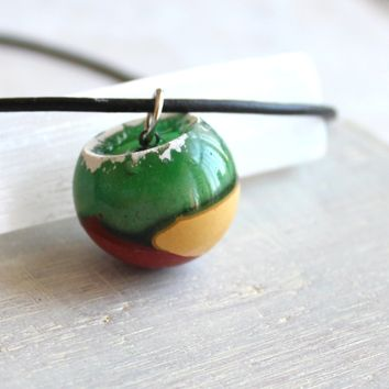 Wrecking ball necklace - spring