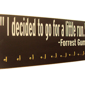 running medals holder - Running medals holder - running medals rack - Forrest Gump