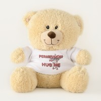 TEE Permission to Hug Teddy Bear