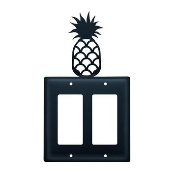 Pineapple - Double GFI Cover