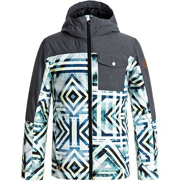 Quiksilver Boys 8-16 Mission Block Jacket