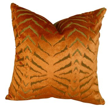 Plutus Magnetism Handmade Double Sided Queen Throw Pillow