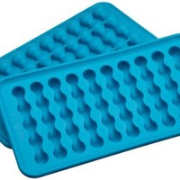 Casabella Silicone Water Bottle Ice Cube Tray, Set Of 2