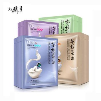 HuanYanCao Hydrodynamic Silk Mask Water Facial Mask Moisturizing Oil Control Moisture Skin Care Products