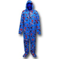 Spiderman Footed Hooded Pajamas