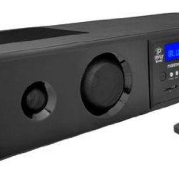 Pyle Sound Bar - Bluetooth Soundbar 3D Surround Sound System