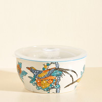Soup to Your Level Bowl in Cool | Mod Retro Vintage Kitchen | ModCloth.com