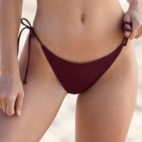 LA Hearts Basic Side Tie Bikini Bottom at PacSun.com