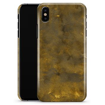 Grunge Watercolor with Golden Specks - iPhone X Clipit Case