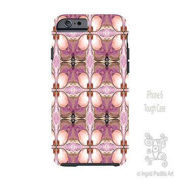 Boho, Pink, iPhone 6 Case, iPhone 6 plus case, artsy, funky, art, vintage, iPhone Cases, iPhone 5 case, Note 4 case, Ingrid Padilla
