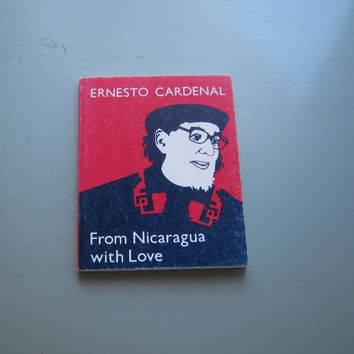 Nice Copy of Ernesto Cardenal's From Nicaragua with Love - City Lights Revolutionary Poetry Bk - Activist Poetry - Nicaraguan History