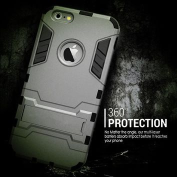 Ultra-Slim Protective Dual Layer Defender Case Cover for iPhone 6/iPhone6S/iPhone 6 plus/iPhone 6S plus/iPhone 5/iPhone 5s
