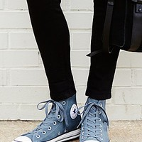 Converse Womens Suede Hi Top Chucks - Admiral
