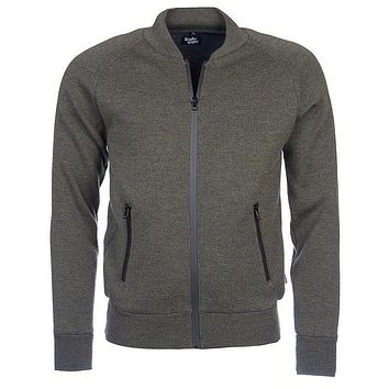 Becket Zip Through Jacket in Olive by Barbour