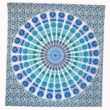 HIppie Indian Mandala Tapestry Dorm Wall Hanging Gypsy Tapestries Wall Art Decor
