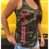 Military Camo Swing Tank Top - Signature Series