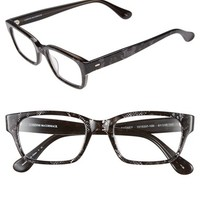 Women's Corinne McCormack 'Sydney' 51mm Reading Glasses - Black/ Silver Lace