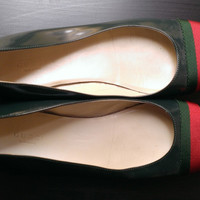 Gucci Stripe Flats Like New! — Bib + Tuck