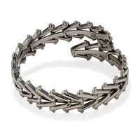Hematite Men's Chain Wrap