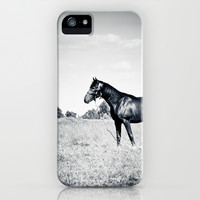 Horse iPhone & iPod Case by da-kuk