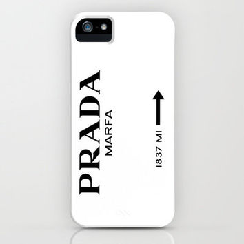 Prada Marfa iPhone Case by Wekilledcouture | Society6