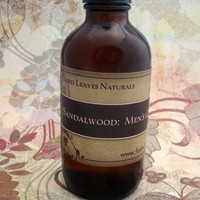 All Natural Sandalwood Men's Cologne, after shave
