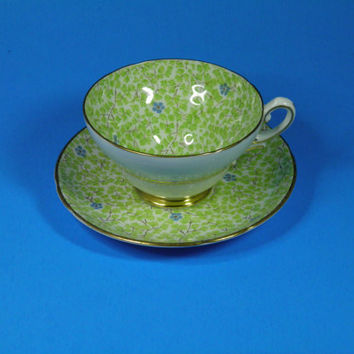 Stanley English Bone China Tea Cup and Saucer Set
