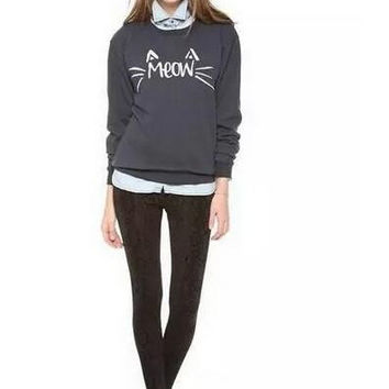 """Meow"" Lovely Sweater B0014085"