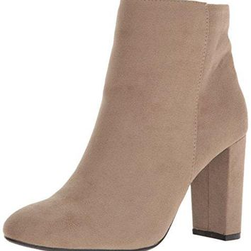 Qupid Women's Boot York-14x Boot Taupe