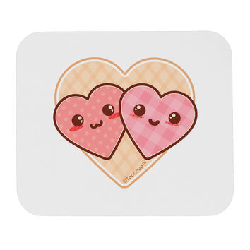 Super Cute Kawaii Hearts Mousepad