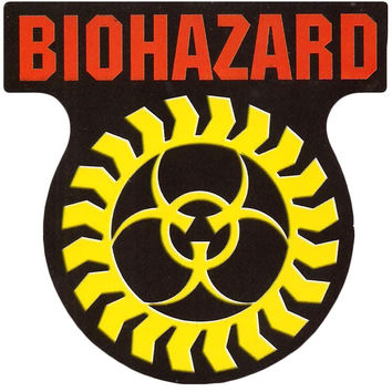 Biohazard - Sticker