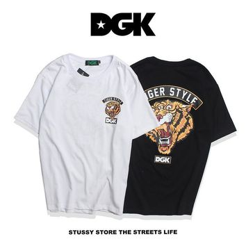 DGK Couple Short Sleeve Hip-hop T-shirts [211440992268]