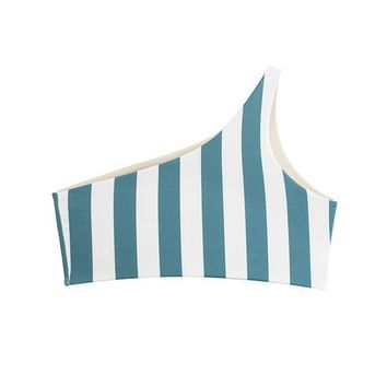 MAYLANA Alden Ocean Stripes Top