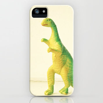 Dinosaur Attack iPhone Case by Cassia Beck | Society6
