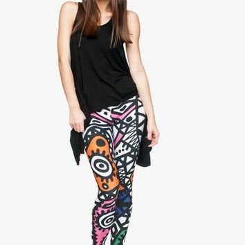 Transgressive Graffiti Leggings